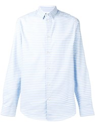Natural Selection Slate Striped Shirt Blue