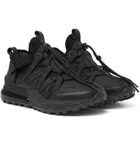 Nike Air Max 270 Bowfin Ripstop Mesh And Faux Leather Sneakers Black