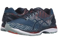 Asics Gel Nimbus 18 Poseidon Dark Saphire Koi Men's Running Shoes Blue
