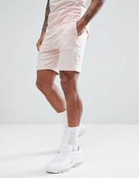 Gym King Shorts In Beige With Logo