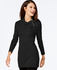 Inc International Concepts Side Zip Cowl Neck Tunic Only At Macy's