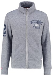 Superdry Tracksuit Top Pearl Blue Grindle Dark Blue
