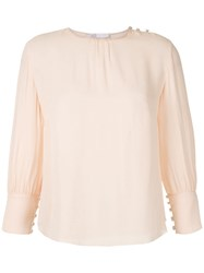 Spacenk Nk Romain Monsoes Claine Blouse Pink