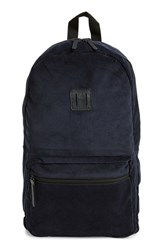Men's Topman Corduroy Backpack Blue Navy Blue