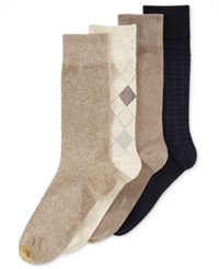 Gold Toe Argyle Dress Socks 4 Pack