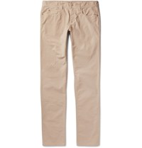 Loro Piana Stretch Cotton Trousers Tan