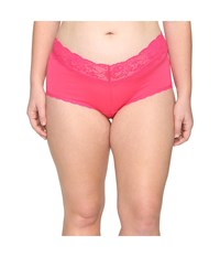 Cosabella Extended Size Never Say Never Cheekie Hotpant Hot Pink Women's Underwear