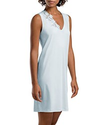 Hanro Solid Tank Gown White
