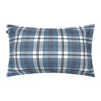Gant Flannel Check Pillowcase 50X75cm Blue