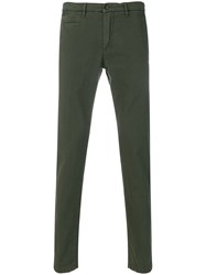 Re Hash Mucha Slim Fit Chinos Green