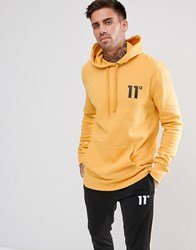 11 Degrees Hoodie In Yellow