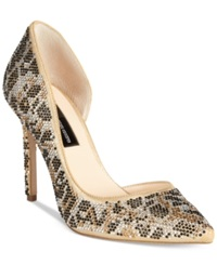 Inc International Concepts Kenjay D'orsay Pumps Only At Macy's Women's Shoes Leopard