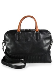 Ralph Lauren Calfskin Leather Briefcase Black