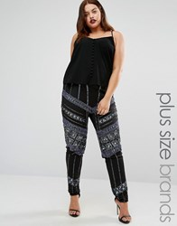 Lovedrobe Luxe All Over Embellished Legging Black