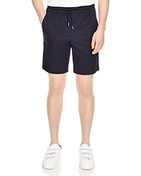 Sandro Gamma Drawstring Shorts Navy Blue