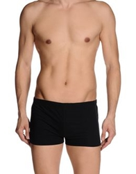 Paolo Pecora Man Swimming Trunks Black