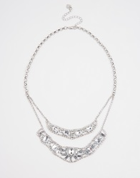 Lipsy Crystal Mix Necklace