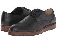 Dr. Scholl's Braxton Black Men's Lace Up Wing Tip Shoes