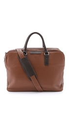 Marc By Marc Jacobs Classic Leather Briefcase Redwood Multi
