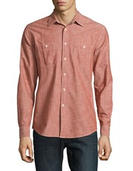 Dockers Premium Edition Slim Fit Relaxed Cotton Sportshirt Red