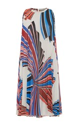 Emilio Pucci Accordion Mini Dress Print