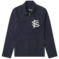Ebbets Field Flannels San Francisco Seals Ground Crew Jacket Blue