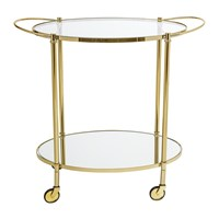 Bloomingville Fine Bar Side Table Gold