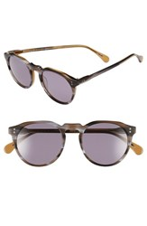 Men's Raen 'Remmy' 49Mm Polarized Sunglasses Cinder