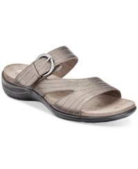 Easy Street Shoes Flicker Sandals Women's Pewter