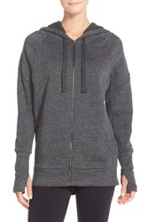 Alo Yoga 'Stellar' Hooded Sweatshirt Gray
