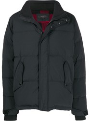 Rag And Bone High Neck Down Jacket Black