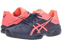 Asics Gel Solution Speed 3 Indigo Blue Diva Pink Women's Tennis Shoes