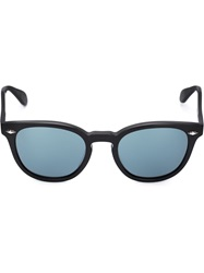 Oliver Peoples 'Sheldrake Plus' Sunglasses Black