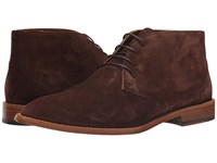 Sebago Collier Chukka Dark Brown Suede Men's Lace Up Casual Shoes