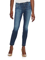 Joe's Jeans Frayed Cuff Skinny Jean Colletti