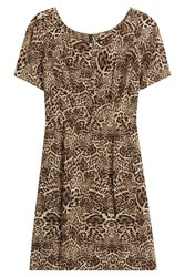 The Kooples Silk Leopard Print Dress Animal Prints