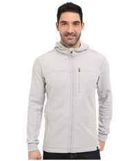 Prana Drey Full Zip Silver Men's Long Sleeve Pullover