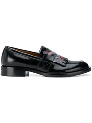 Givenchy Printed Loafers Black