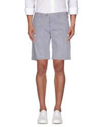 Roberto Pepe Trousers Bermuda Shorts Men Grey
