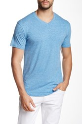 Mr. Swim Triblend V Neck Tee Blue