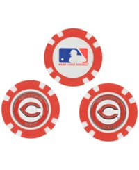Team Golf Cincinnati Reds 3 Pack Poker Chip Markers