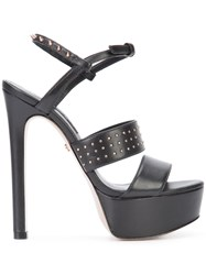 Ruthie Davis Strappy Sandals Women Leather Kid Leather 37 Black
