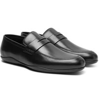 Harry's Of London Harrys Downing Leather Penny Loafers Black