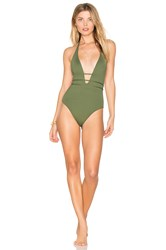 L Space Pamela One Piece Olive