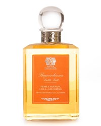 Antica Farmacista Orange Blossom Lilac And Jasmine Bubble Bath 15.8 Oz. 473 Ml