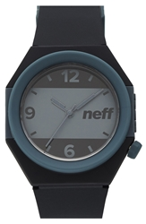 Neff Stripe Watch 42Mm Grey Black