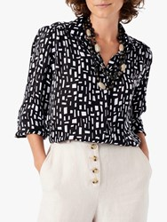 Brora Graphic Print Shirt Monochrome
