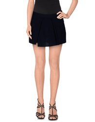 G.Sel Skirts Mini Skirts Women Dark Blue