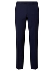 John Lewis Woven In Italy Mohair Tonic Tailored Suit Trousers Blue