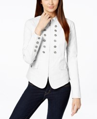 Inc International Concepts Double Breasted Military Jacket Only At Macy's